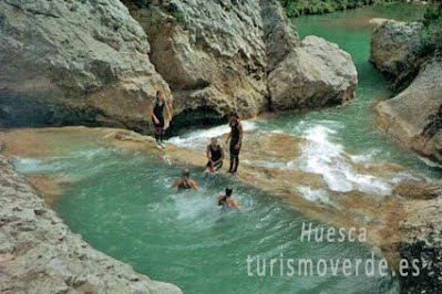 TURISMO VERDE HUESCA. Barranquismo